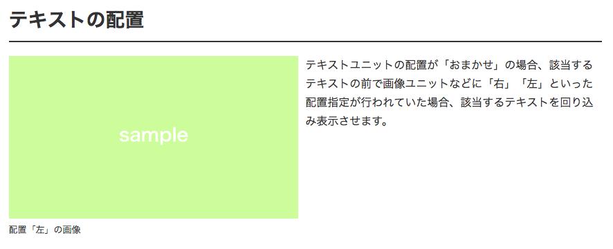 配置の「おまかせ」「全体」の表示例