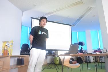 株式会社KDDIウェブコミュニケーションズ 山田 直哉さんのセッションの様子